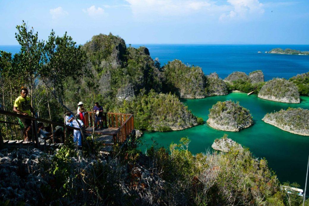 actividades isla misool mirador
