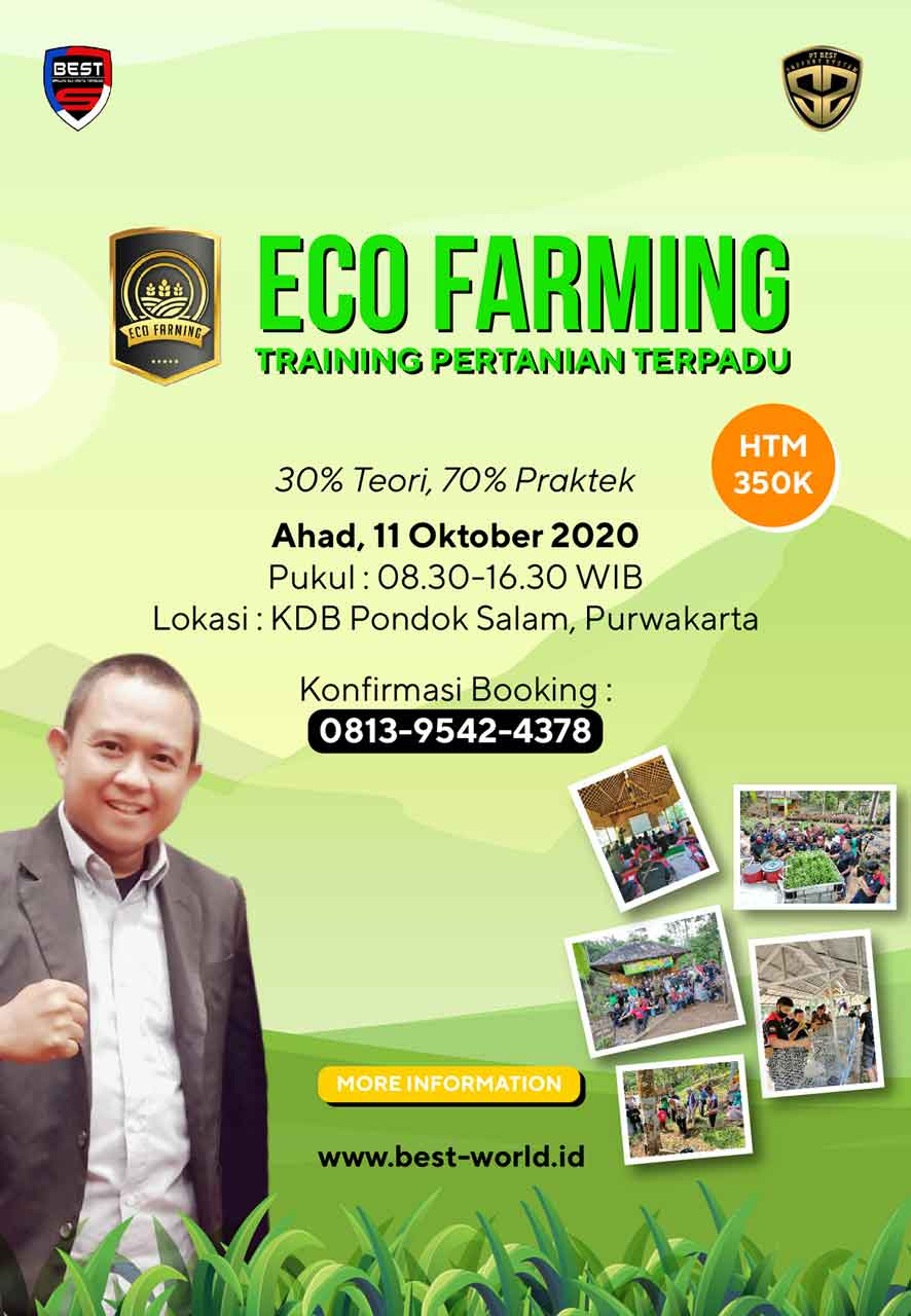 Training Eco Farming KDB