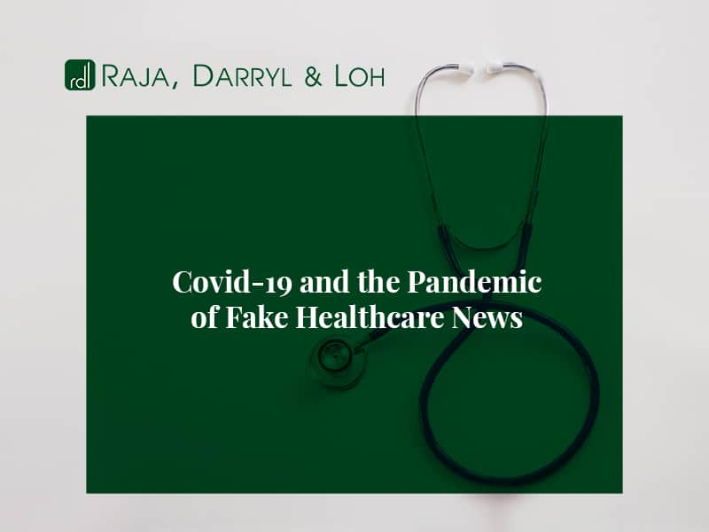 Covid-19 and the pandemic of Fake Healthcare News