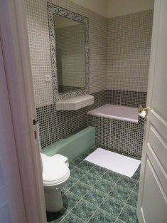 Bathroom of apartment