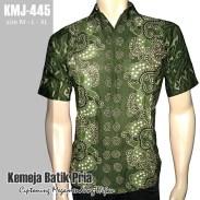 KMJ-445 Kemeja Batik CIPTONING MEGAMENDUNG HIJAU