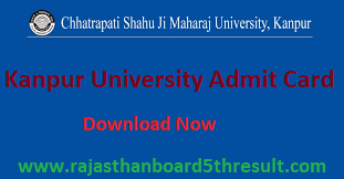 Kanpur University Admit Card 2021