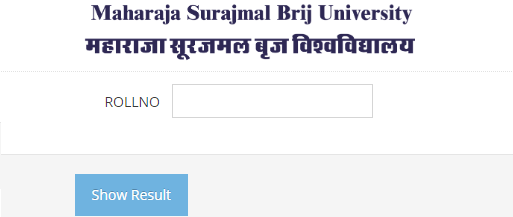 Brij University Bcom Result 2020