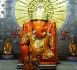 Ganesh Chaturthi moti-dungri  In COVID-19