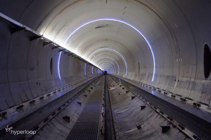 Virgin Hyperloop Tube Tunnel