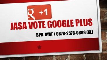 jasa vote google plus