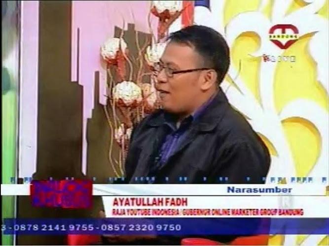 konsultan pemasaran bandung, raja youtube indonesia, ayatullah fahd