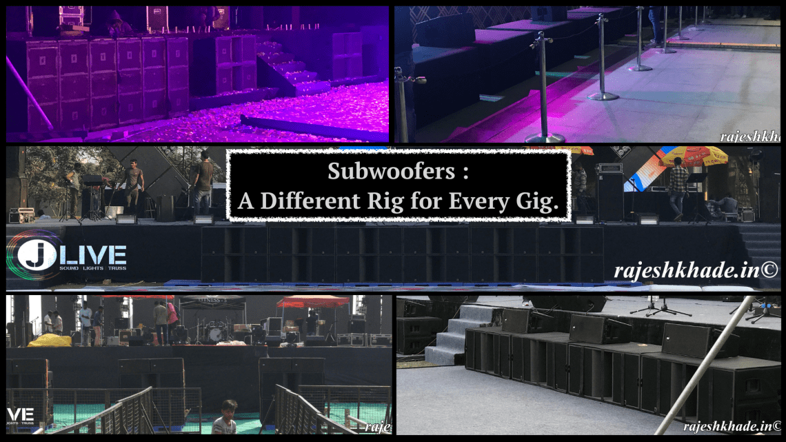 Subwoofers A Different Rig for Every Gig