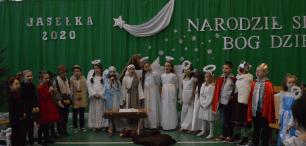 Występ uczniów SP w Rajgrodzie