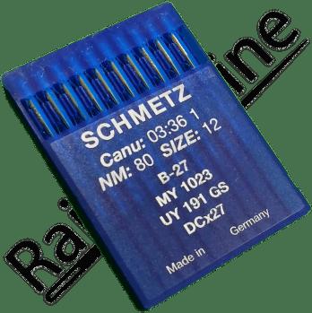 10 Aiguilles SCHMETZ b-27