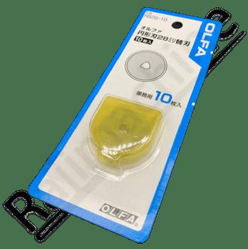 Lame de cutter rotatif OLFA RM-RB28-10-L 10 unités