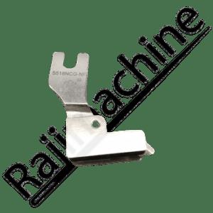 Pied de biche fermeture invisible avec guide double entrainement