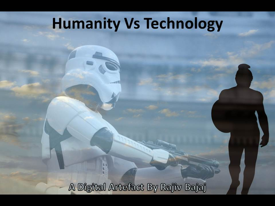 "Humanity Vs Technology – A ""Quote-Unquote"" Debate #edcmooc"