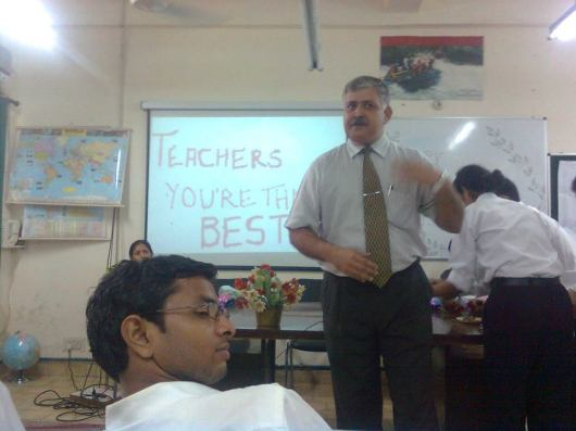 Rajiv Bajaj Addressing IITTM students on Teachers' Day