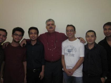 Rajiv Bajaj with IITTM students at the freshers party