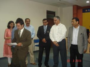 Rajiv Bajaj at Deptt of Tourism & Hospitality, Amity University Noida