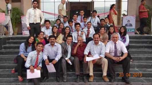 Raajiv Bajaj at the inauguration of IITTM Noida Campus.