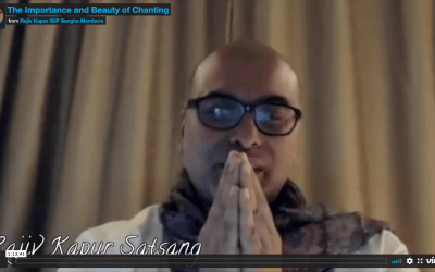 The Importance and Beauty of Chanting