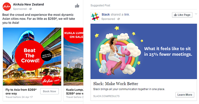 Writing headlines for facebook ads