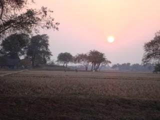 Sunset at Pradyutnagar, Orissa