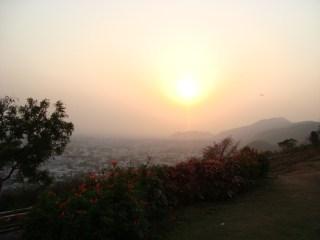 Sunset at Kailash Hill