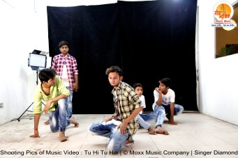 Tu Hi Tu Hai - Music Video Shoot