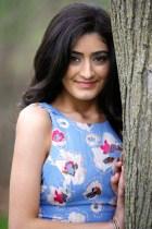 Apr 30, 2016; Birmingham, MI, USA; Senior Portraits of Shannon at Baldwin Park. © Raj Mehta