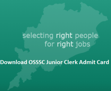 OSSSC Junior Clerk Admit Card
