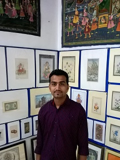 Artist Vijay Anand Swami Profile