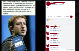 BFF Facebook Scandal