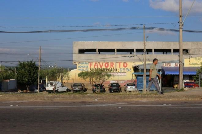 Driving around Campinas.