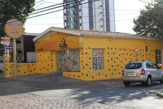 A pet store in Campinas