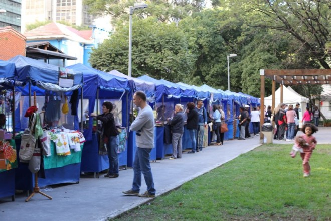 Market off Paulista in Sao Paulo