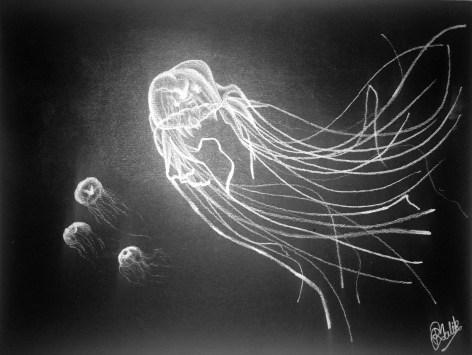 Jellyfish (White Charcoal)