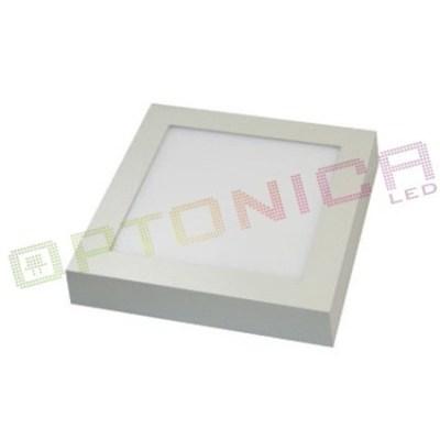 Лед светильник квадратный накладной 18W 220V 220×220мм 1440lm