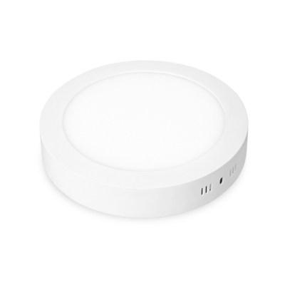 Светодиодный  светильник Downlight накладной круглый матовый 172мм 12W 4000K EUROLAMP LED NEW