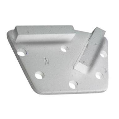Алмазная фреза для мозаично-шлифовальных машин SP-GPM по низкопрочному бетону с 2 прямоугольными сегментами