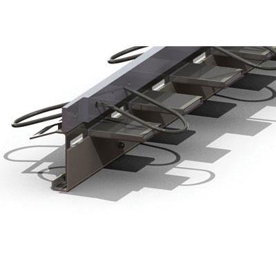 Альфа-профиль для деформационных швов бетонного пола