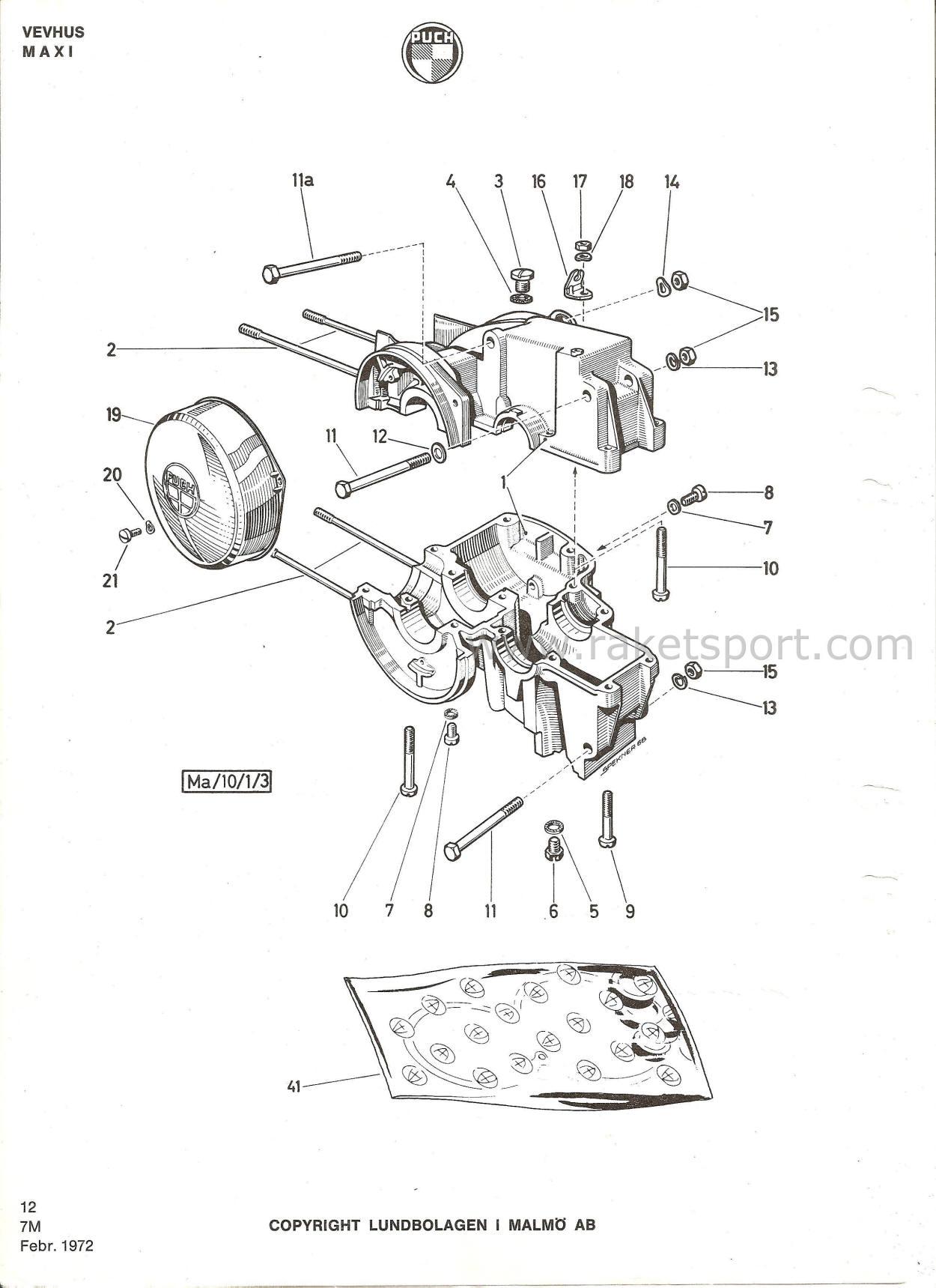 Puch Motorer Katalog