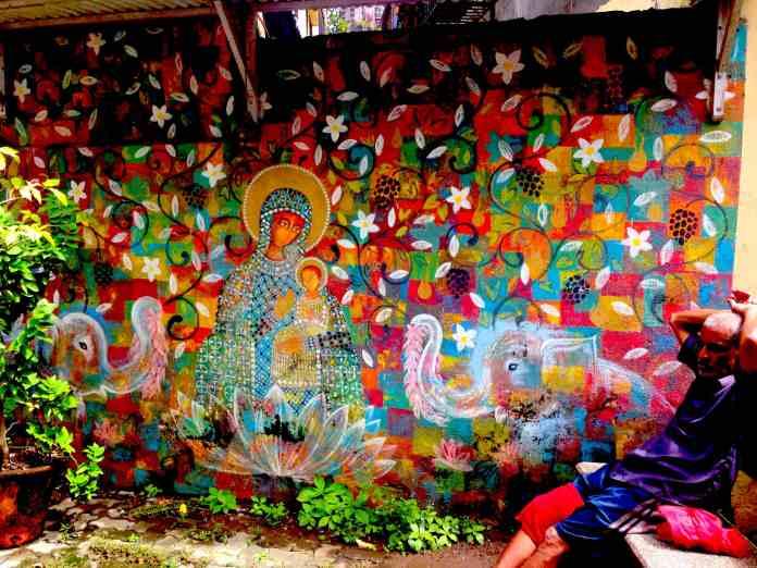 Mural in Khotachiwadi