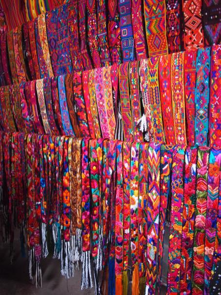 Belts at Chichicastenango