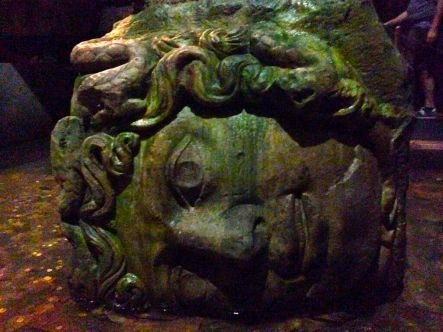 Medusa at The Basilica Cistern
