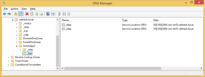 dnsRoot