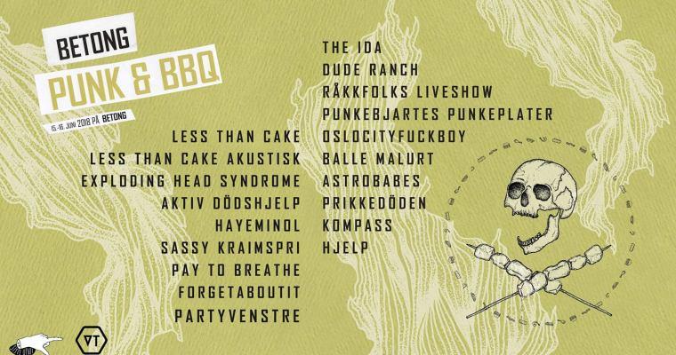 Konkurranse! Vinn 2 billetter til Betong Punk & BBQ!