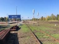 Der weitläufige Bahnhof von Belzec. Auch hier kein Hinweis auf die traurige Geschichte dieses Ortes.