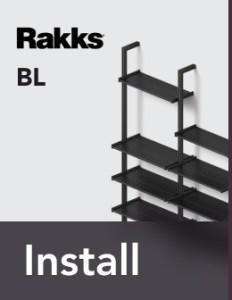 Rakks BL Pole Shelving Install