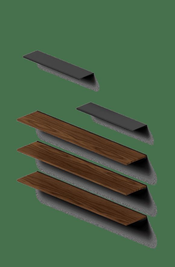Rakks Floating Shelves