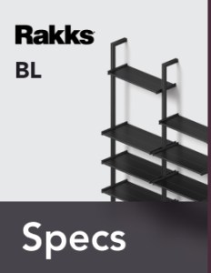 Rakks BL Pole Shelving Specifications