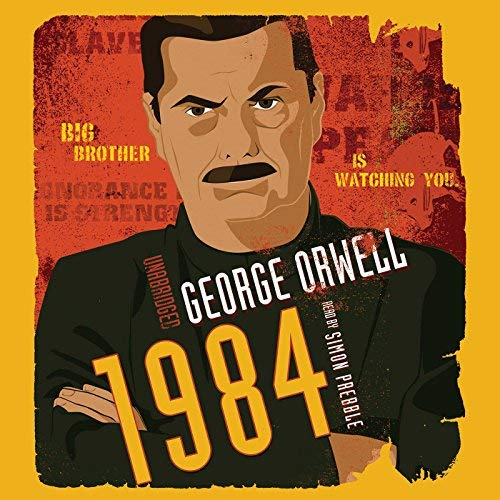 1984 audiobook cover art