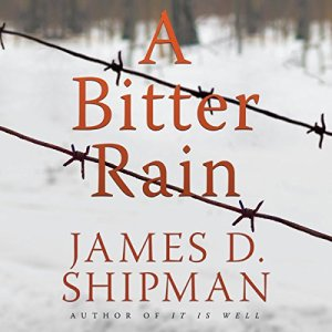 A Bitter Rain audiobook cover art